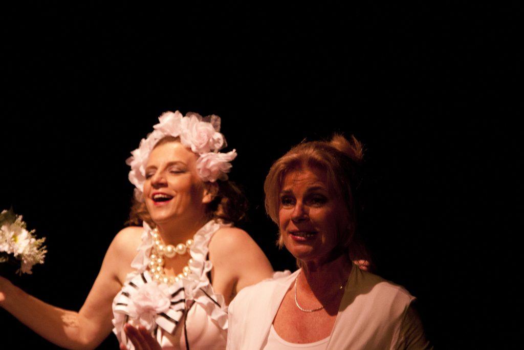 Mariëtte Schlatmann en Annelies de Blaauw